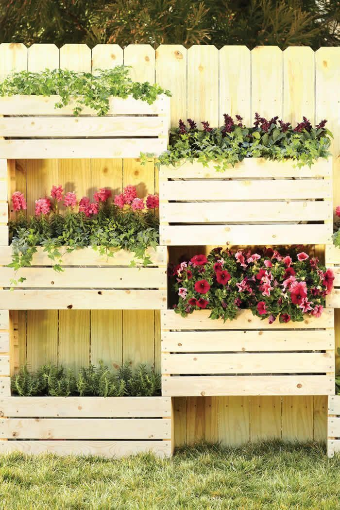beautiful and simple diy flower beds to enhance your on easy diy woodworking projects to decor your home kinds of wooden planters id=46324