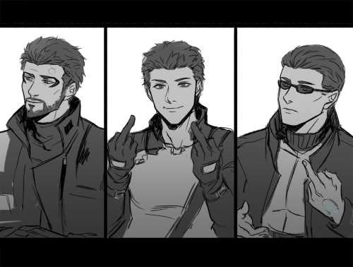 Deus Ex, Adam Jensen, JC Denton, Alex Denton