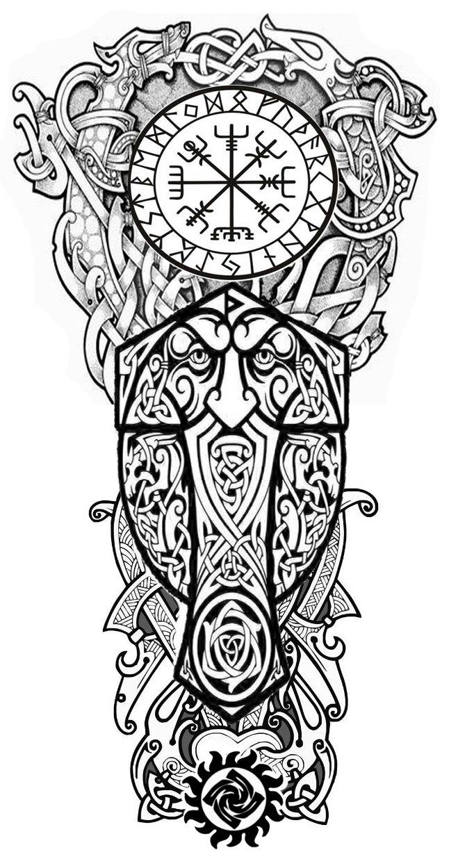 Сборный эскиз #vikingsymbols