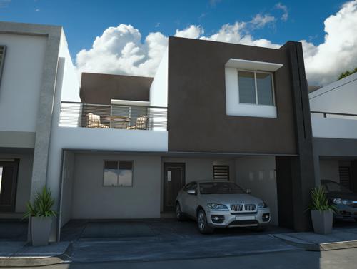 Fotos e im genes de fachadas contempor neas de casas para for Imagenes de fachadas de casas