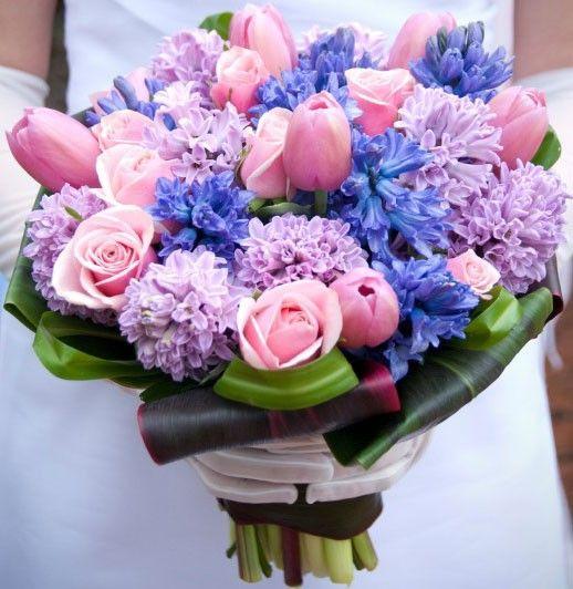 Hydrangea tulip peony centerpieces premium spring bridal