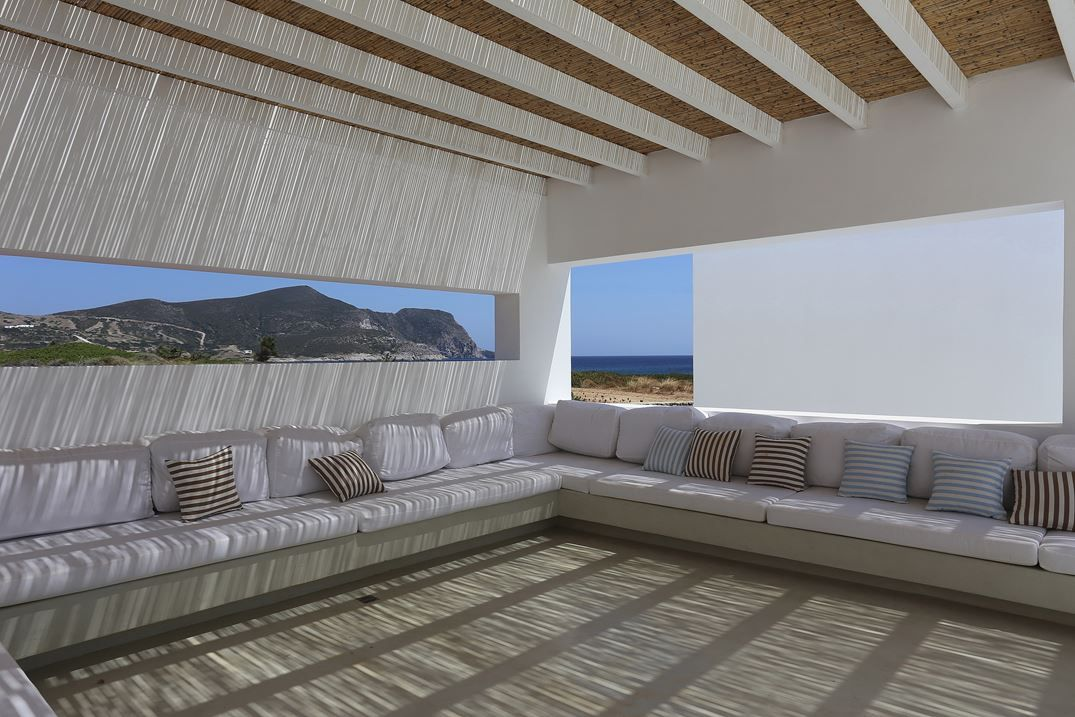 Private Beach Residence Antiparos, Greece, 2014 - Peia Associati