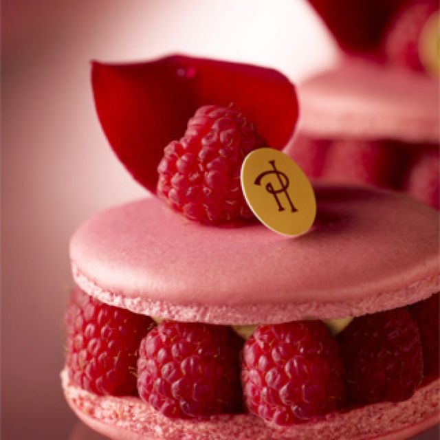 Mother Of All Macarons The Isfahan From Pierre Herme Desserts Macarons Sweets