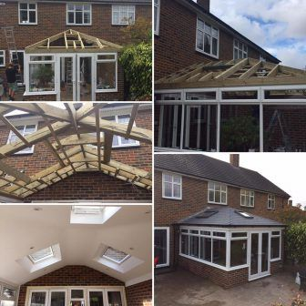 Conservatory Roof Specialists London Eastbourne Grp Fibreglass Crbd Conservatory Roof Tiled Conservatory Roof Replacement Conservatory Roof