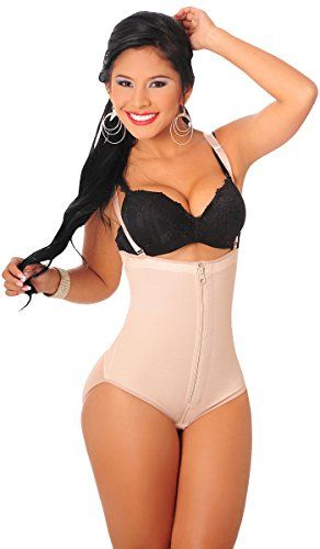eb3bd3aa2f Fajas Salome Salome 418 Backless Body Shaper Strapless Postpartum Fajas  Colombianas Postparto