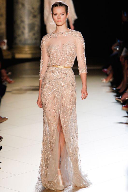 Elie Saab Antique Gold Royal Rose Elie Saab Dresses Elie Saab Couture Gowns Dresses