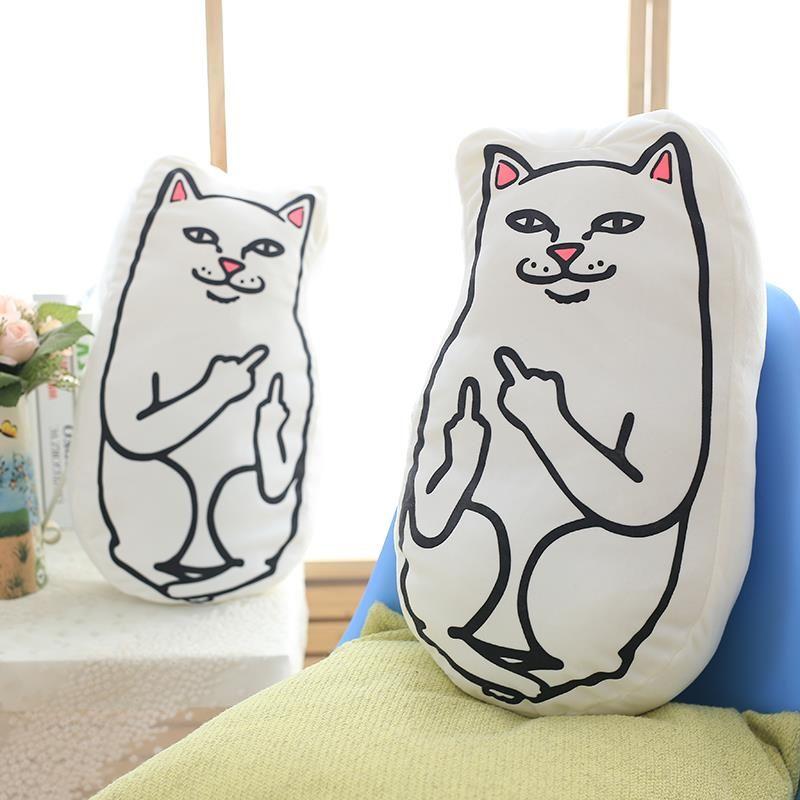 Fashion Cartoon Ripndip Pattern Decorative Throw Pillows For Sofa