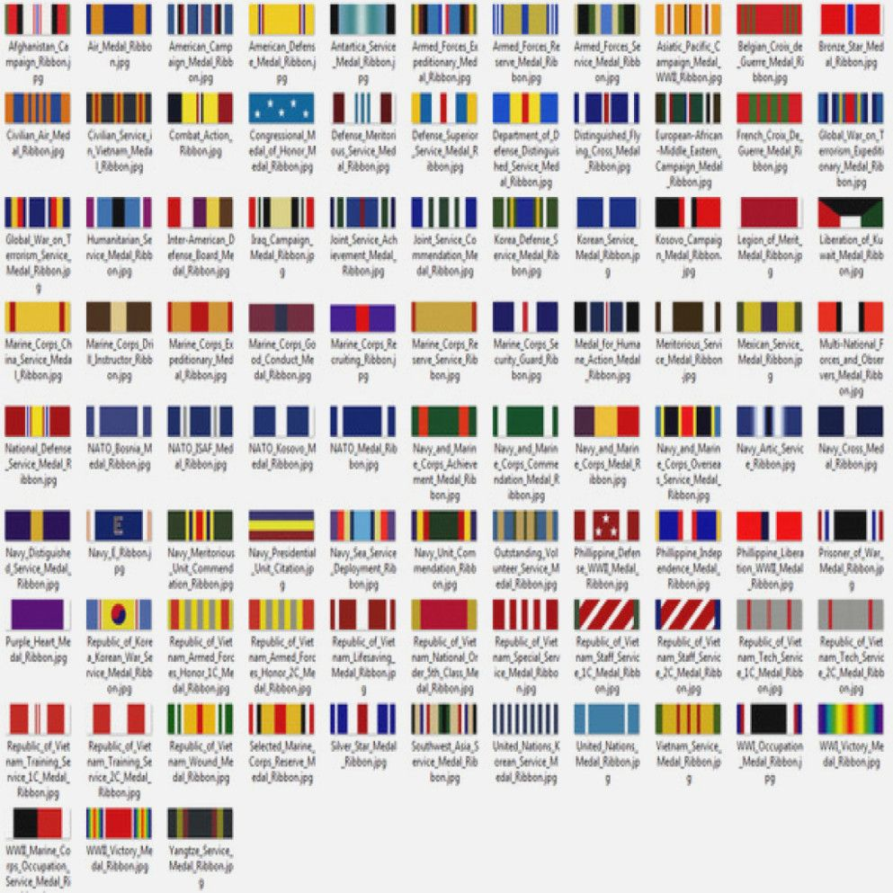 Marine Corps Medals In Order Wwii Ribbon Chart Army Ribons Military Medals Ranking Chart Medal Precedence Marine Corps Medals Military Ribbons Military Medals