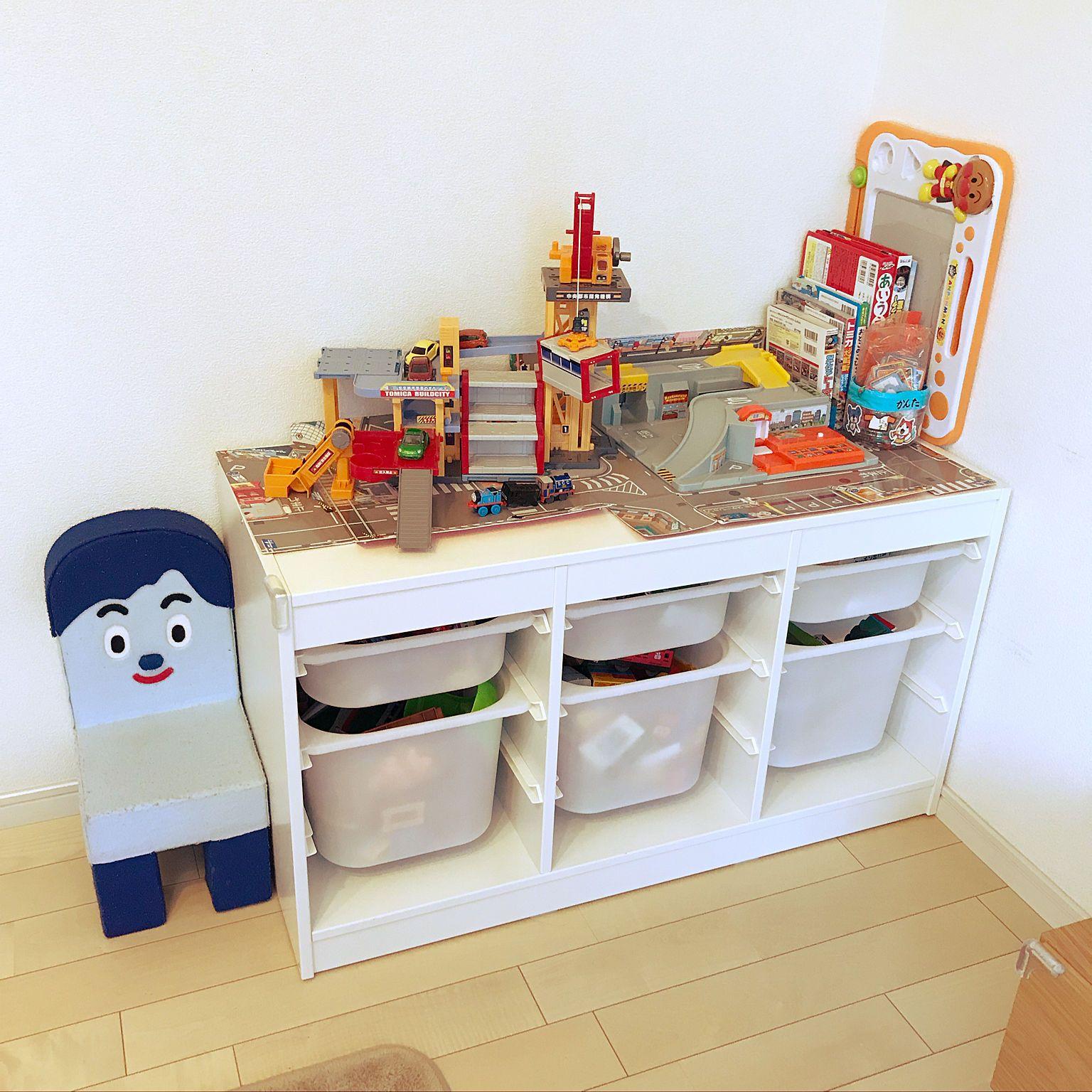 5c15a12072 リビング/おもちゃ収納/トロファスト/IKEA/シンプル/北欧...などの ...