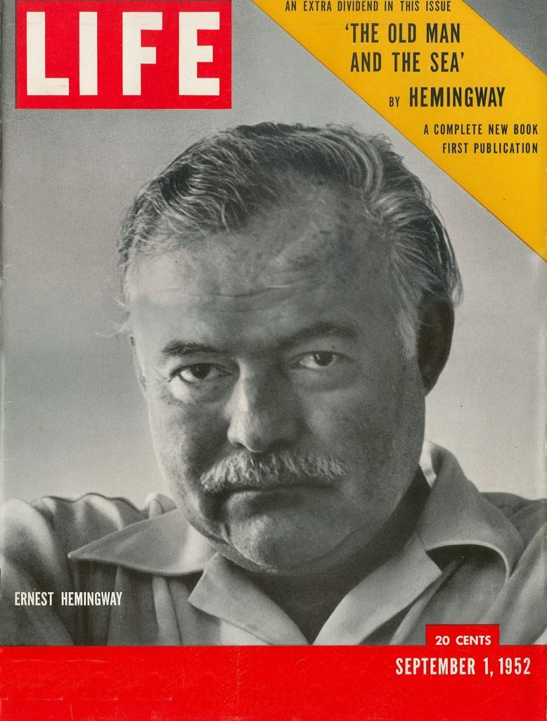 """To read: Life 1952. / """"The Old Man and The Sea"""". Hemingway."""