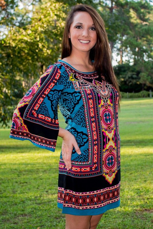 Give Me Everything Tunic Dress - Only $40 plus get 10% off with the code BC10