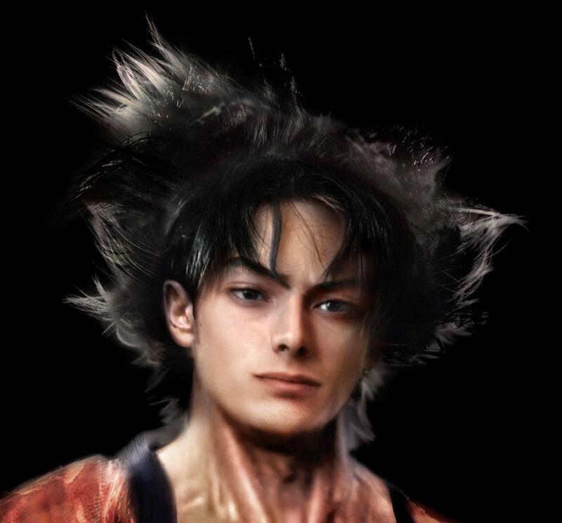 Artstation Son Goku Real Life Patrick Belfiore Son Goku Goku Real Life