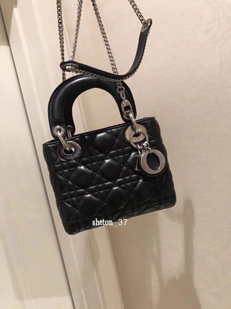 36877cdfd518 Christian Dior Mini Lady Dior Chain Crossbody Lambskin Leather Black Bag  Purse  fashion  clothing  shoes  accessories  womensbagshandbags (ebay link)
