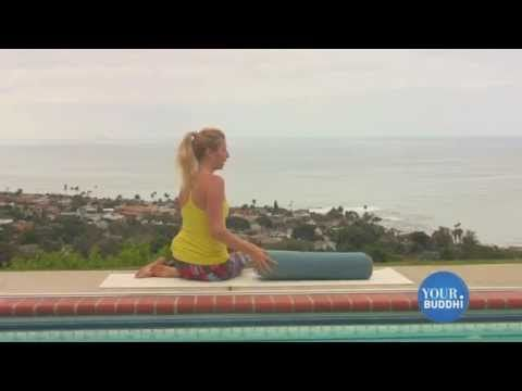 restorative yoga with bolster relaxing tips for better