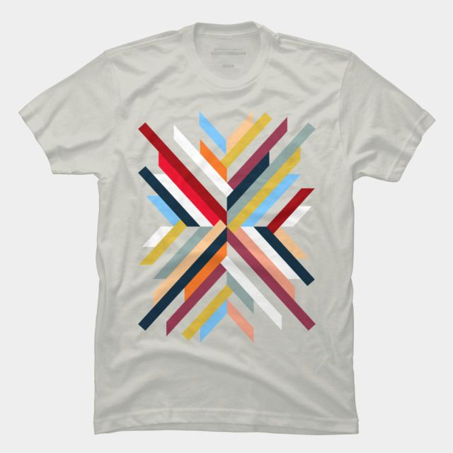 Shop Abstract Geometric by sookkol available as a T Shirt ...