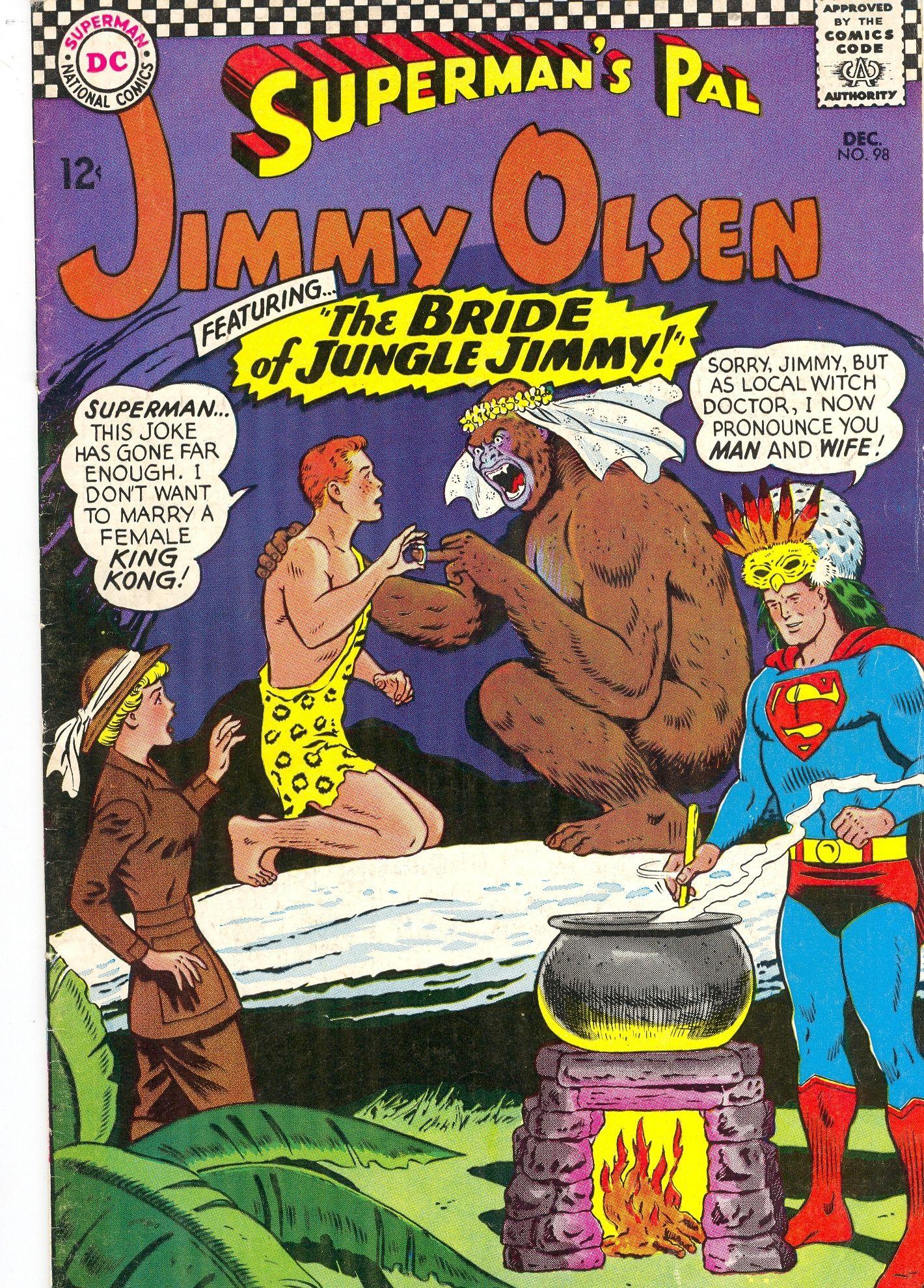 Superman\'s Pal, Jimmy Olsen #98 \