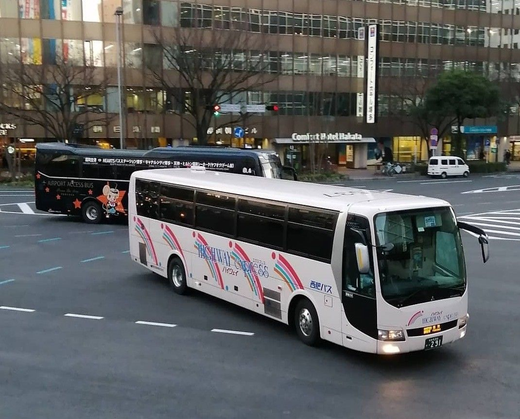 Highway Express Japao 2020 路線バス バス 長崎