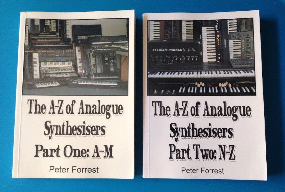 Lot Of 2 Rare Books The A Z Of Analogue Synthesisers Parts 1 2 Peter Forrest Ebay Rare Books Vintage Ephemera 2 Peter