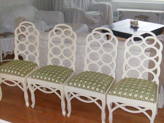 Four Frances Elkins Chairs
