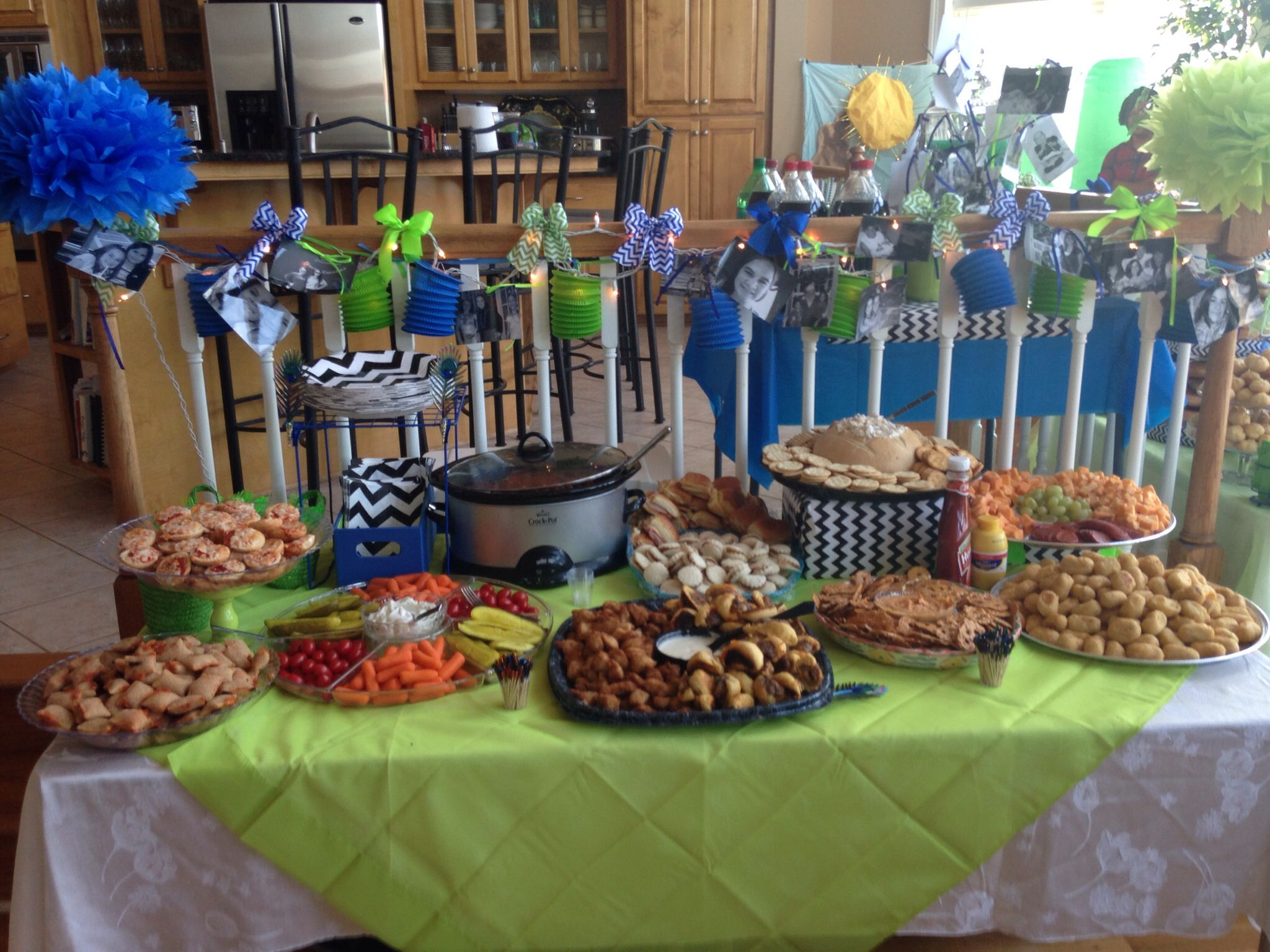 13 year old birthday party appetizer Buffett Madisons 13th