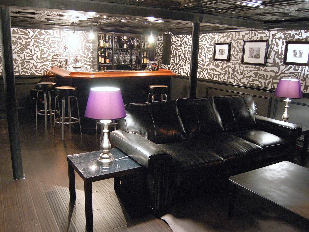 Luxury Man Cave Small Bar Ideas