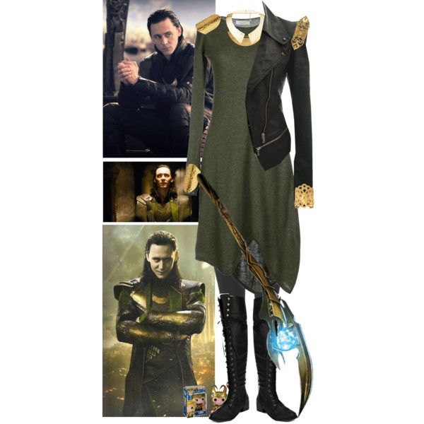 Loki, created by kerry6590 on Polyvore