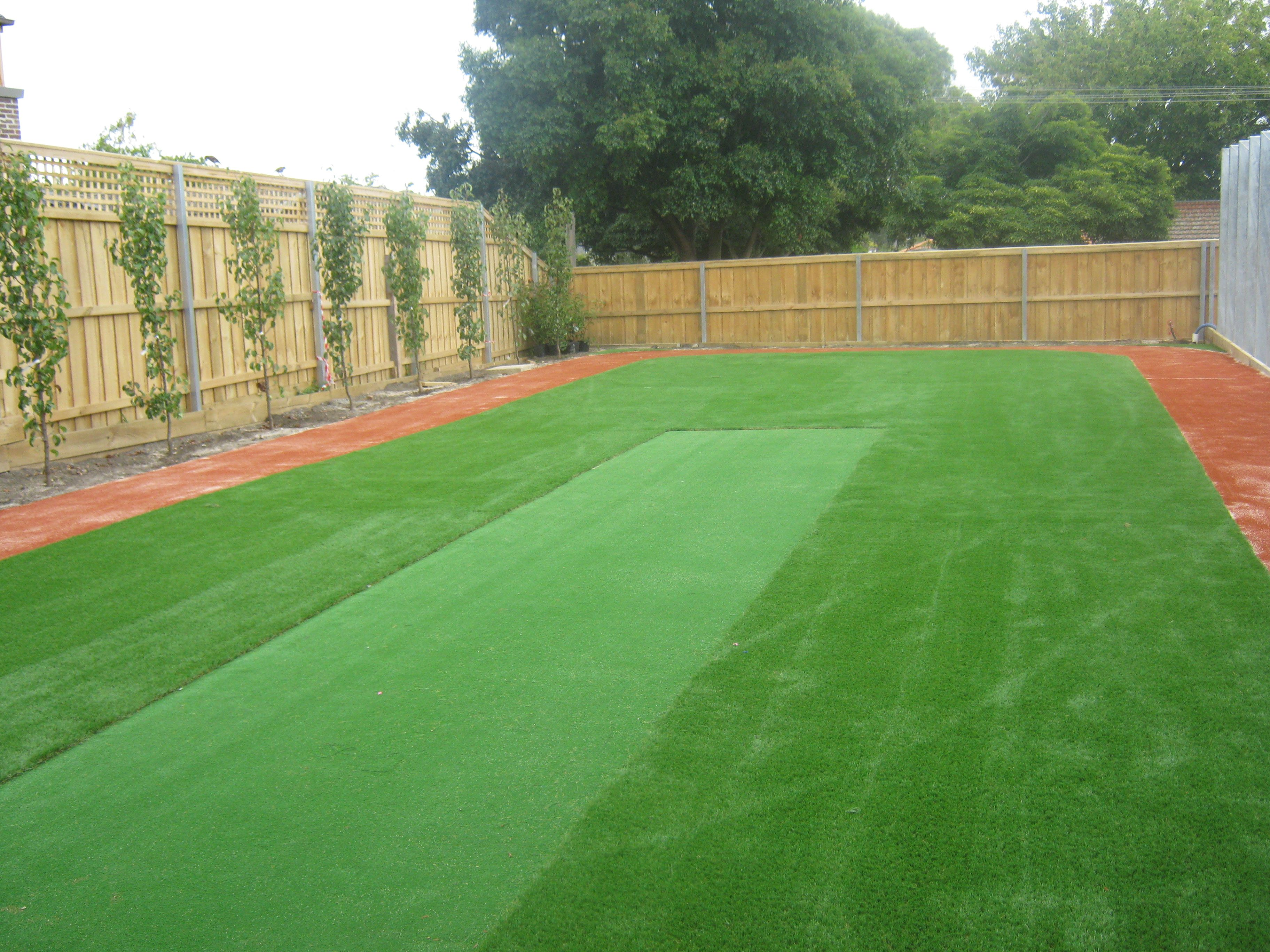 how to make a cricket pitch in your backyard now your green u0027s