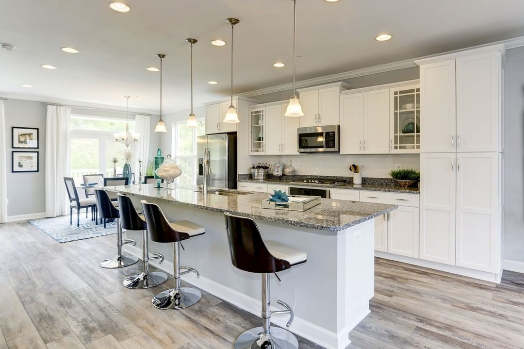 Do You Like A Kitchen That Is Open And Bright Featured Our New Haddington Mod Bright New Home Communities Lennar New House Plans