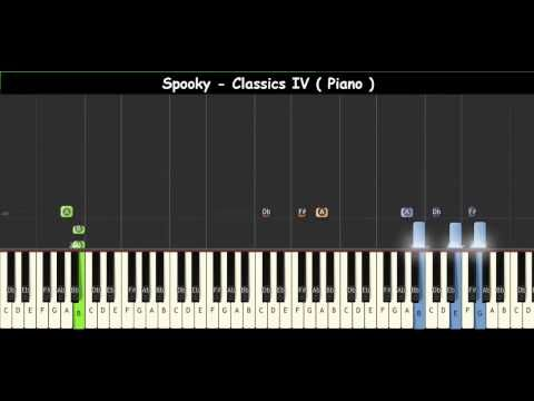 How To Play Spooky Classics Iv Piano Tutorials Youtube With