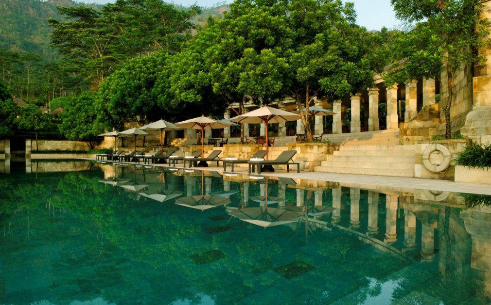 Amanjiwo Java Indonesia Hotel Tempat