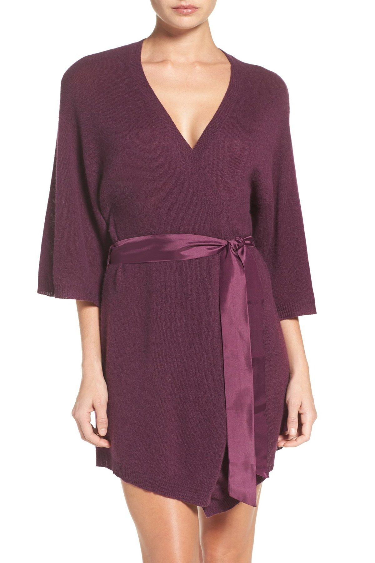 Cashmere Kimono Robe