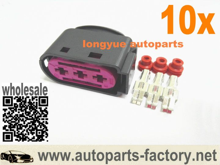 longyue 10pcs 3 way pin oem fuse box repair connector kit 1j0 937 rh pinterest co uk