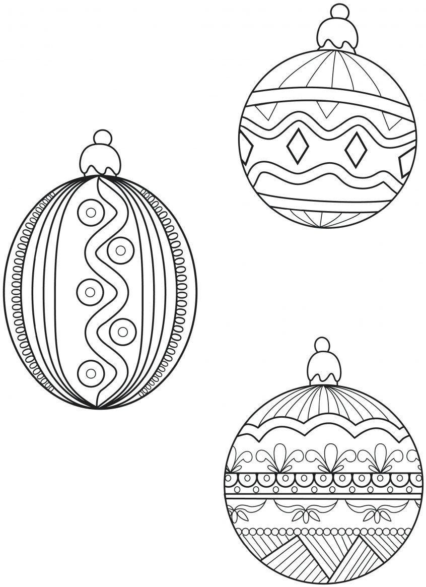 Printable Christmas Ornament Templates Coloring Christmas Ornamentl In 2020 Christmas Ornament Coloring Page Christmas Tree Coloring Page Printable Christmas Ornaments
