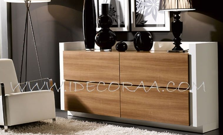 CÓMODA MODERNO MUEBLE MINIMALISTA IDECORAA VELADORES - NIGHT STAND - mueble minimalista