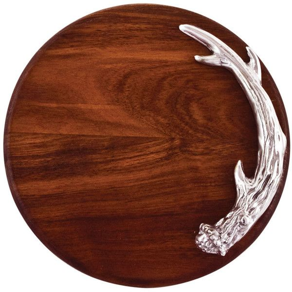 Beatriz Ball Western Antler Round Cutting Board (£68) ❤ liked on Polyvore featuring home, kitchen & dining, kitchen gadgets & tools and beatriz ball