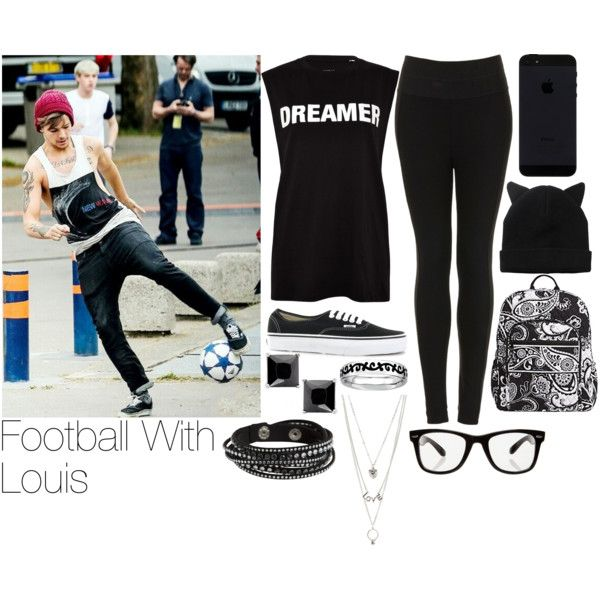 Louis~#11 by lauren-12-pyd on Polyvore featuring Yang Li, Topshop, Vans, Vera Bradley, Charlotte Russe, Pieces, Monki and All Day