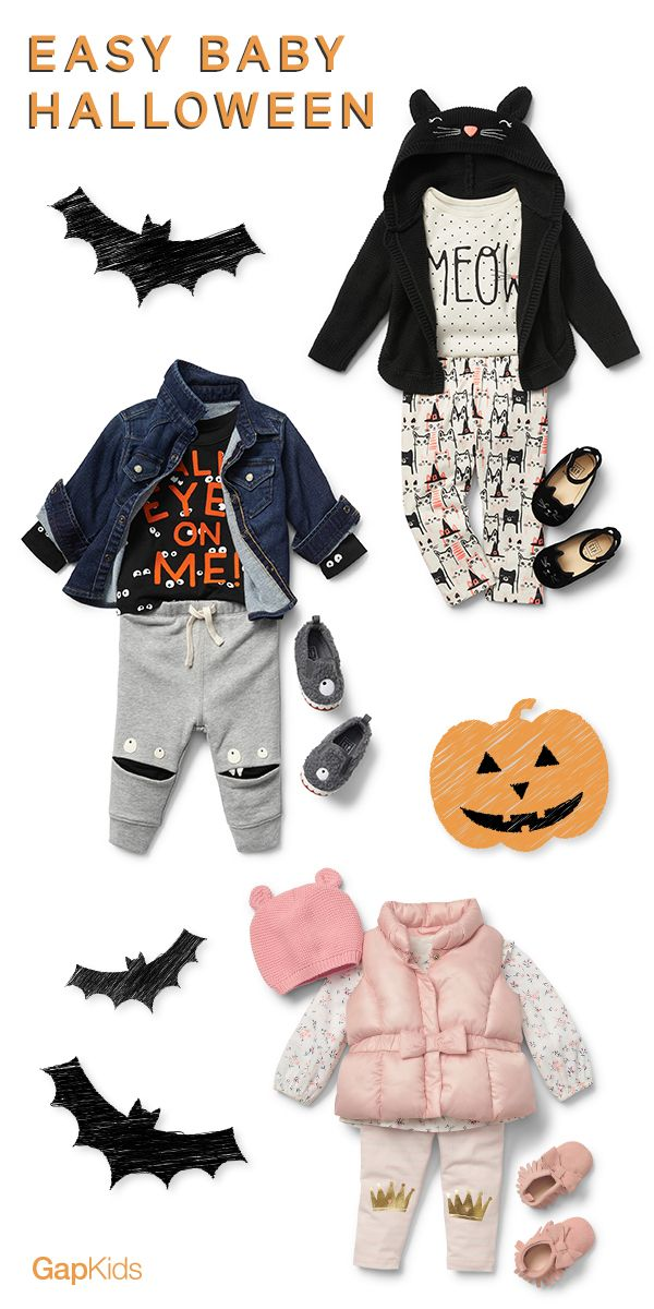 23be2c792 Easy Baby Halloween Costume Ideas. The key to a super-easy