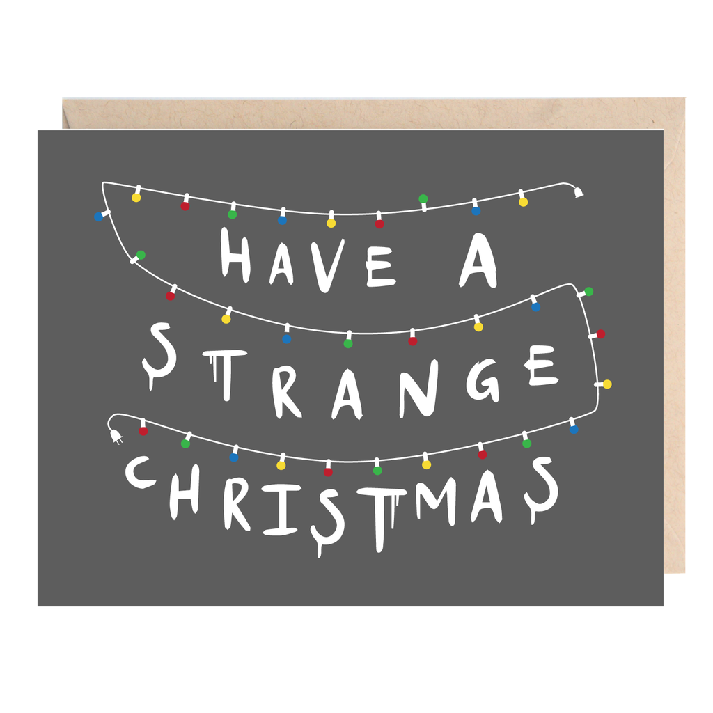 Stranger things christmas holiday greeting card gift ideas stranger things christmas holiday greeting card kristyandbryce Images