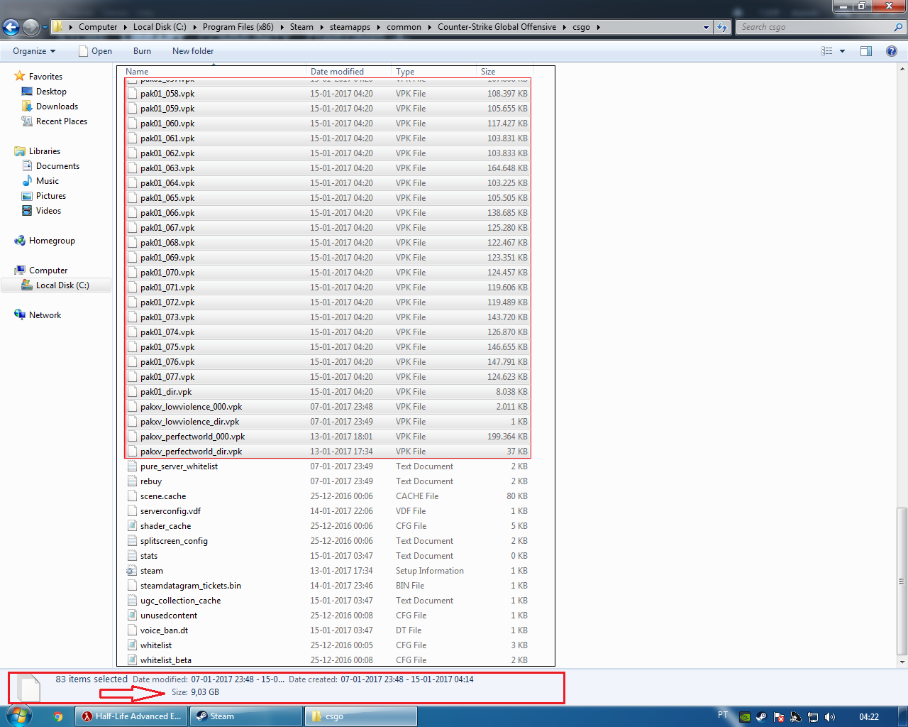 Is Source 2 coming or something? 9 03GB of VPK Files #games