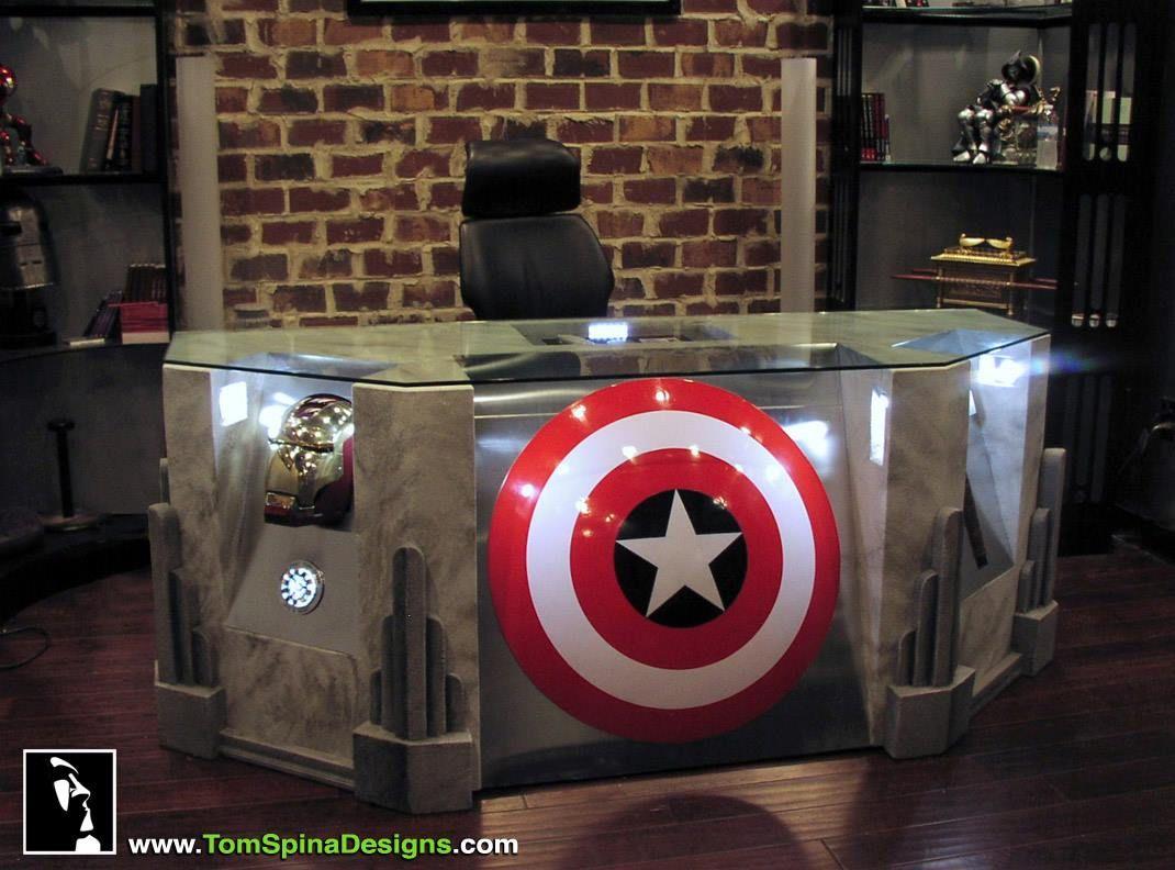 Avengers b ro coole custom designs vol 1 schreibtisch m bel und schreibtisch selber bauen - Tardis selber bauen ...