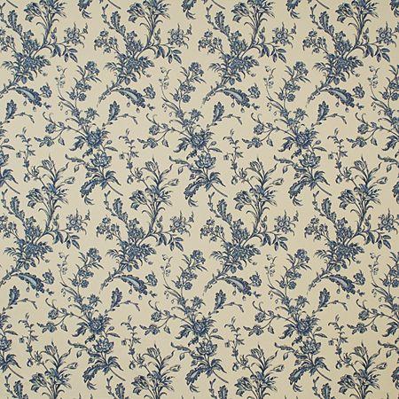 Pindler Fabric Pattern #P2067-Rosemarie, color Cornflower www.pindler.com (Darrington Collection)