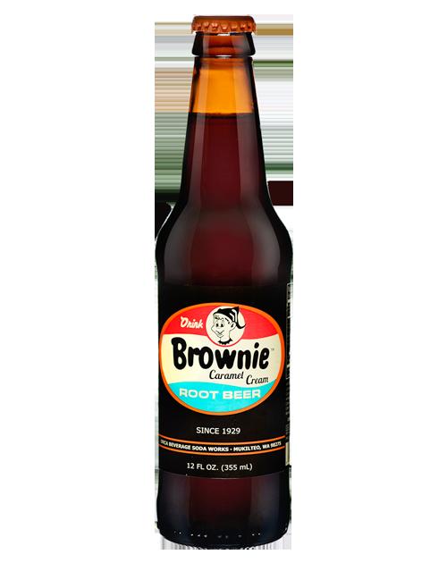 Brownie Caramel Cream Root Beer 12 Pack Root beer