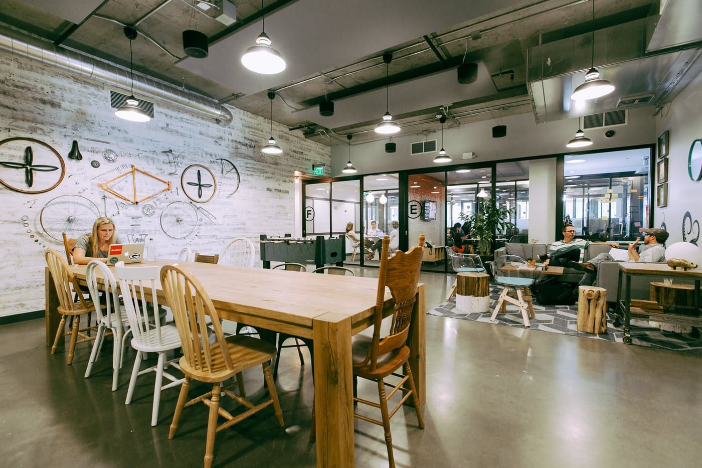 Wework South Lake Union 500 Yale Avenue North Seattle Wa 98109 Coworking Space Design Coworking Office Space Inspiration