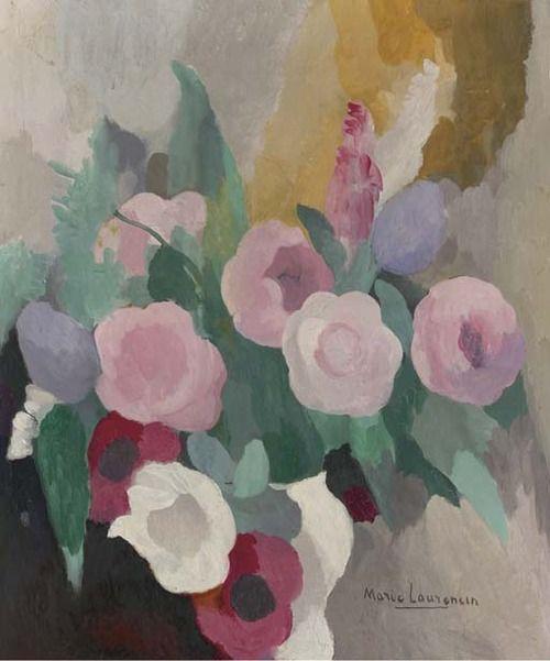 bouquet de fleurs marie laurencin french 1883 1956. Black Bedroom Furniture Sets. Home Design Ideas