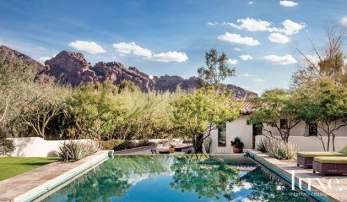 We are thrilled to see our bedding in Luxe Magazine's feature of this beautiful open-plan Paradise Valley house. Designer Jill Anderson of Wiseman & Gale did such a stunning job!