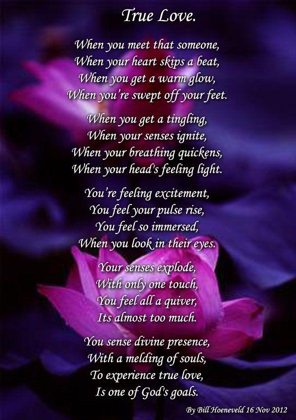 true love pomes | True Love - Spiritual Poetry and ...