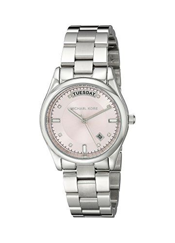 Michael Kors Colette Pink Dial Stainless Steel Womans Watch Watch MK6069 >>> Be sure to check out this awesome product.