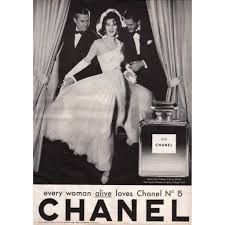 'Every woman alive loves Chanel no 5'