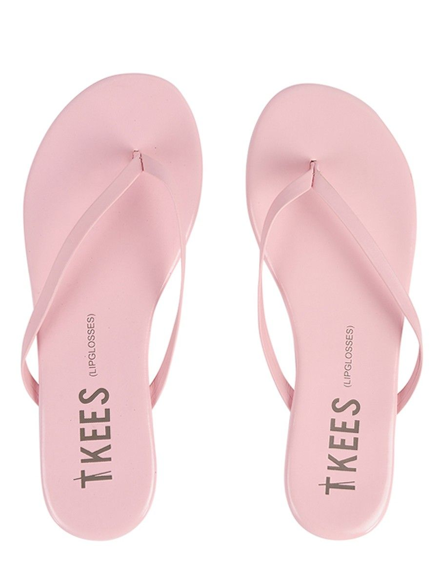 a70f9207cf35 Tkees Patent Leather Flip Flop Lip glosses Rosemary Pink