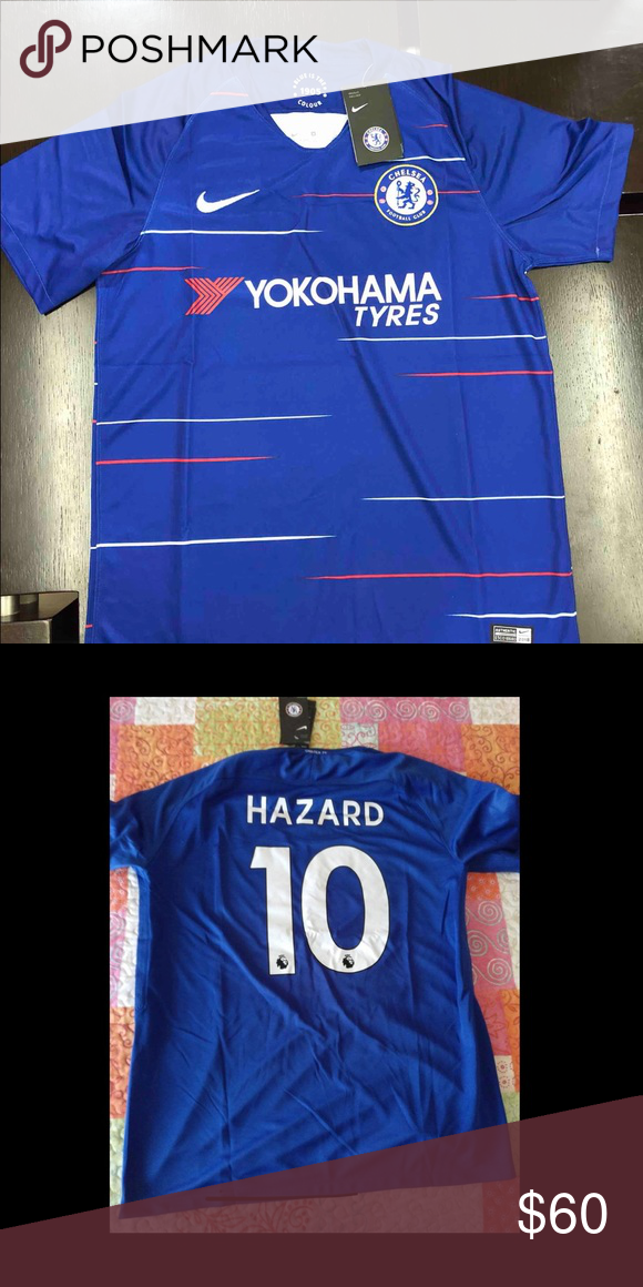 online store 57e93 f856a Brand New Eden Hazard Jersey Brand New With Tags Nike Shirts ...